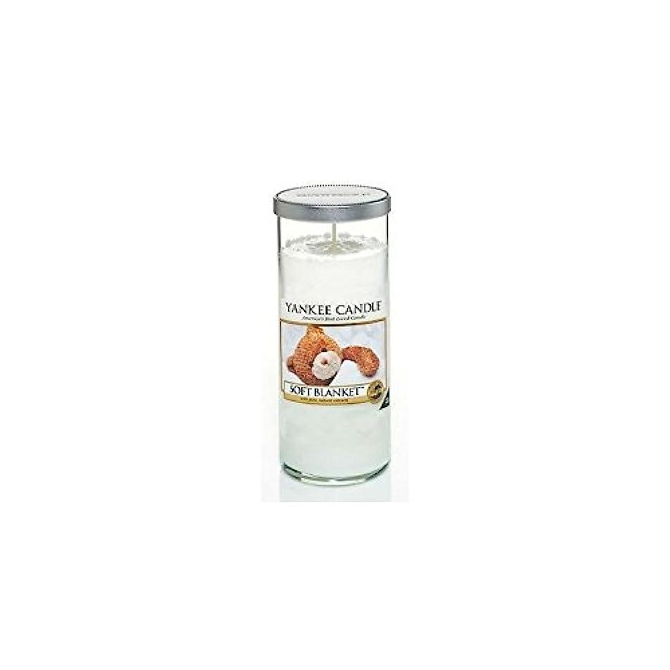 ミッション経験服を片付けるYankee Candles Large Pillar Candle - Soft Blanket (Pack of 6) - ヤンキーキャンドル大きな柱キャンドル - ソフト毛布 (x6) [並行輸入品]