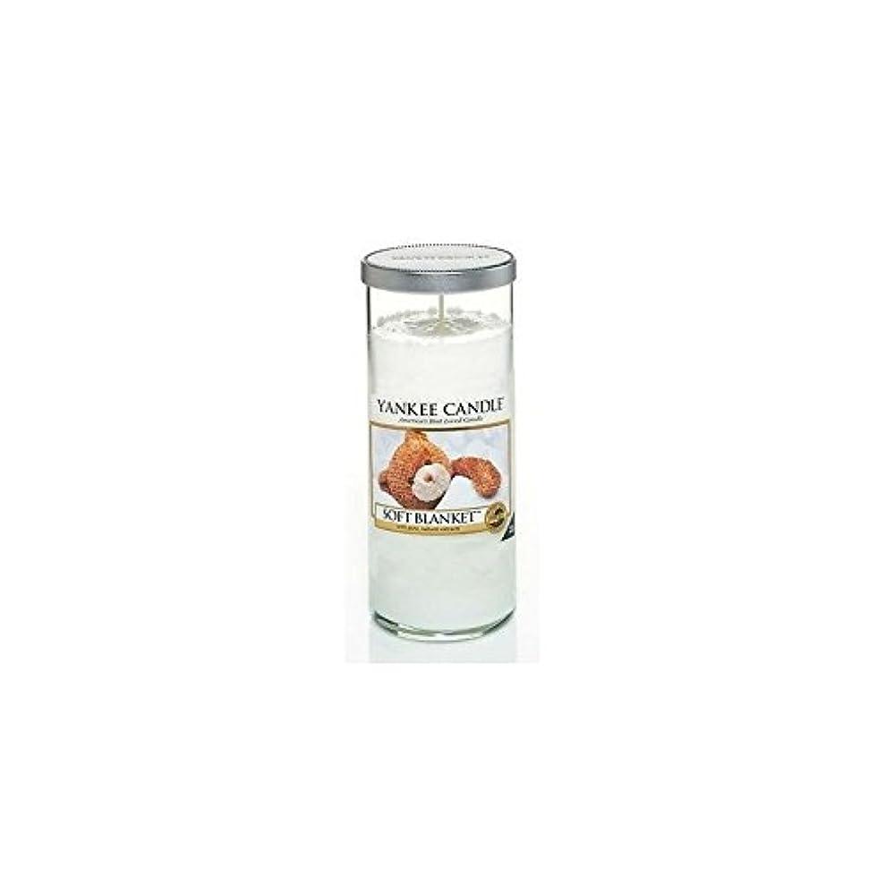ラック自治悪いYankee Candles Large Pillar Candle - Soft Blanket (Pack of 2) - ヤンキーキャンドル大きな柱キャンドル - ソフト毛布 (x2) [並行輸入品]