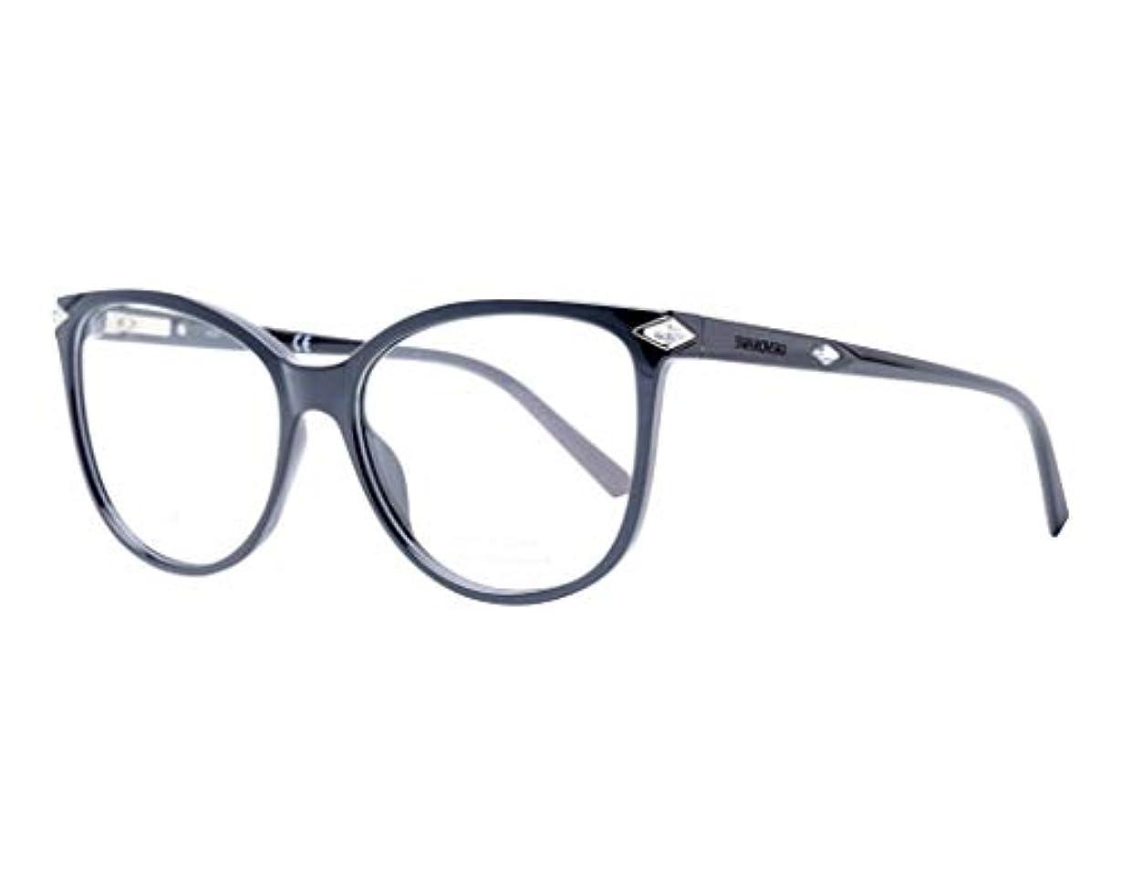 Swarovski メンズ 眼鏡SK 5283 001光沢のある黒いです