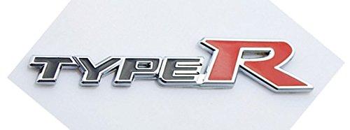 Mercury 汎用TYPE-R エンブレム ブラック タイプR ホンダ シビック CIVIC フィット FIT