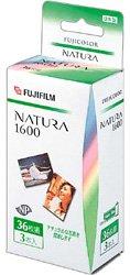 FUJIFILM NATURA 1600 36 3SB カラーネガフィルム ISO1600 36枚撮 3パック
