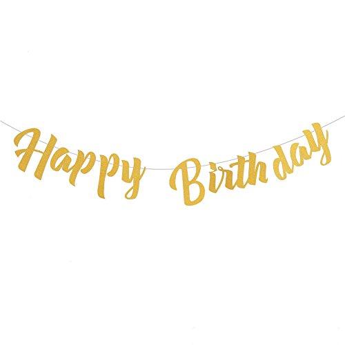 CCINEE HAPPY BIRTHDAY ガーランド 2m 誕生日飾り 誕生日会 パーティー