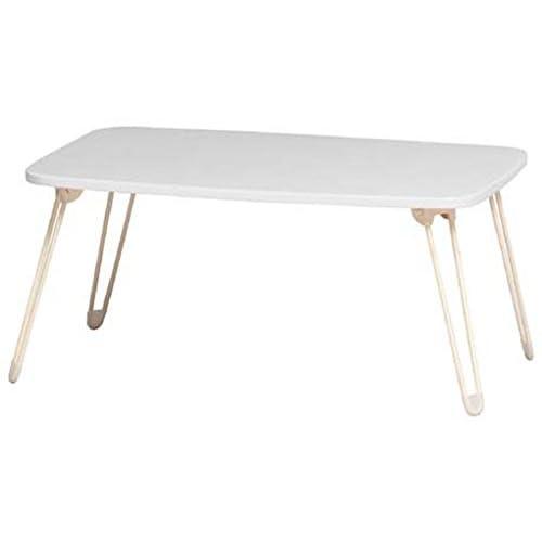 koeki ローテーブル(折脚) ホワイト PZ700(WH)