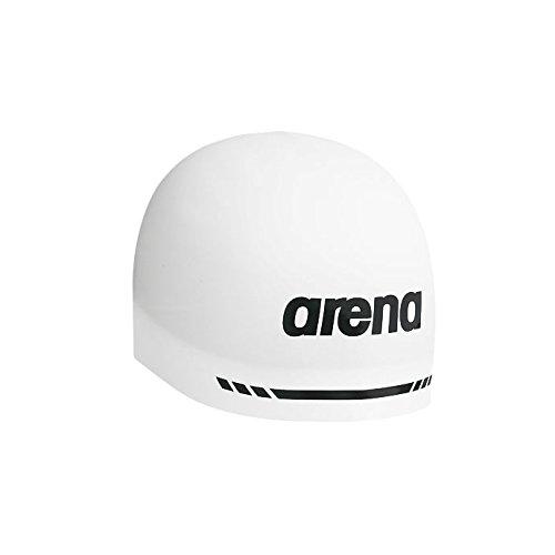 [해외]아레나 (arena) 주니어 실리콘 캡 ARN-5400J 1412 주니어 키즈 FINA 승인 모델 WHT (화이트) F/Arena (arena) Junior Silicon Cap ARN - 5400J 1412 Junior · Kids FINA Approved Model WHT (White) F