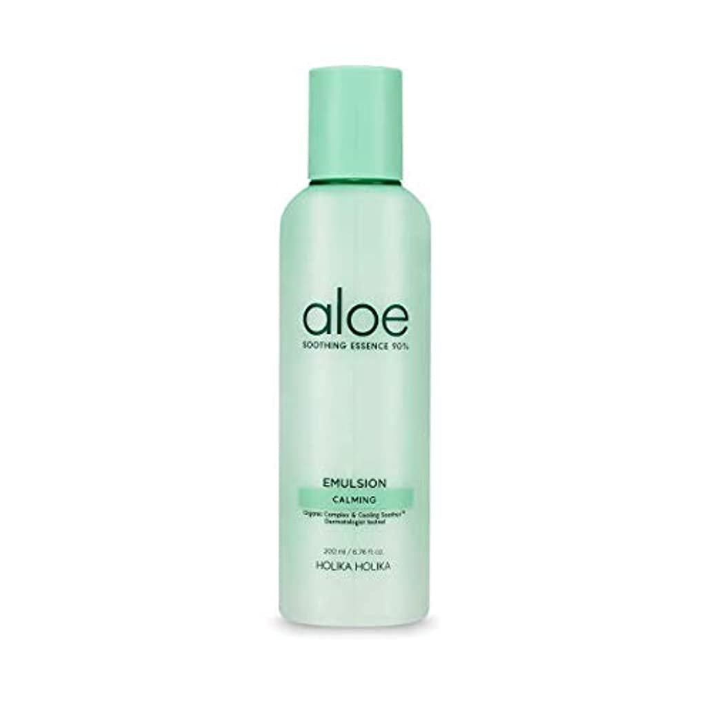 重荷個人的な勤勉な[ホリカホリカ] アロエスージングエッセンス90%エマルジョン / [HOLIKA] Aloe Soothing Essence 90% Emulsion 韓国コスメ [並行輸入品]