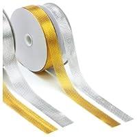 銀鳥産業(株) メタルリボン 12mm 金
