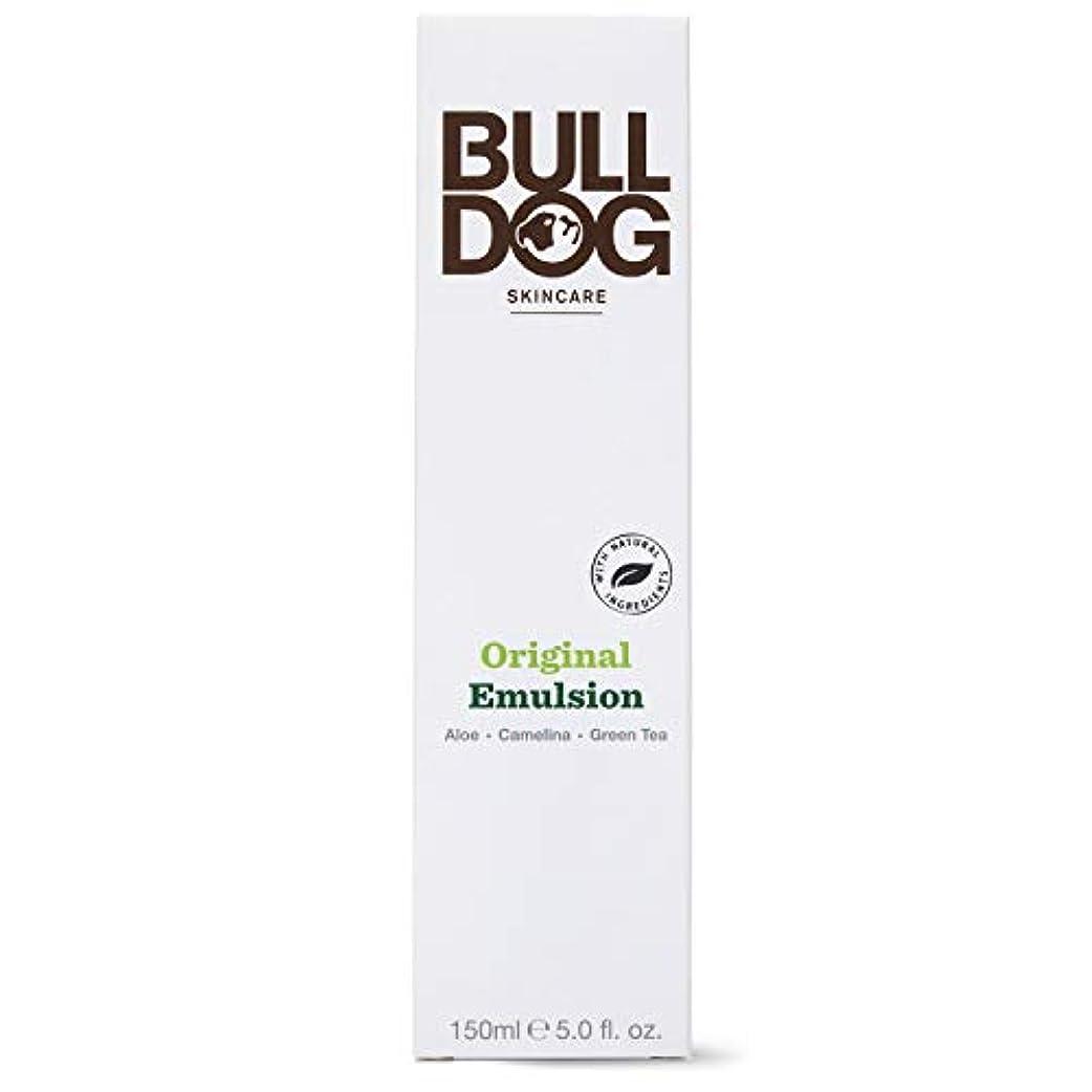 豊かにするちらつきほとんどの場合Bulldog(ブルドッグ) ブルドッグ Bulldog オリジナル エマルジョン 乳液 150ml 肌をすっきり なめらかに