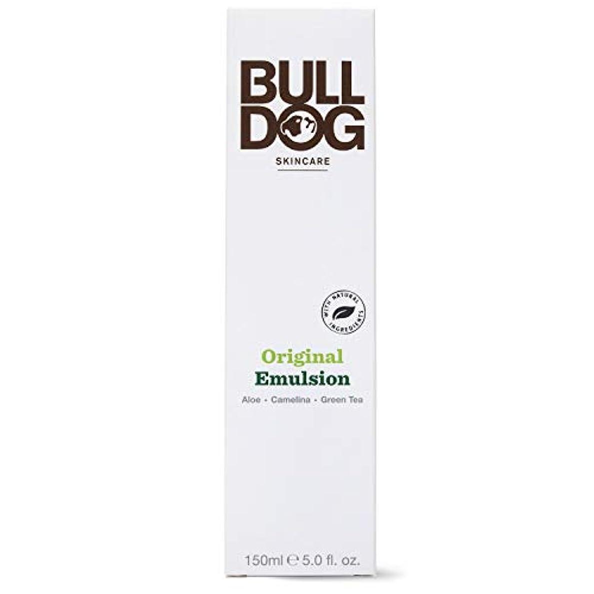 プログラム付録令状Bulldog(ブルドッグ) ブルドッグ Bulldog オリジナル エマルジョン 乳液 150ml 肌をすっきり なめらかに