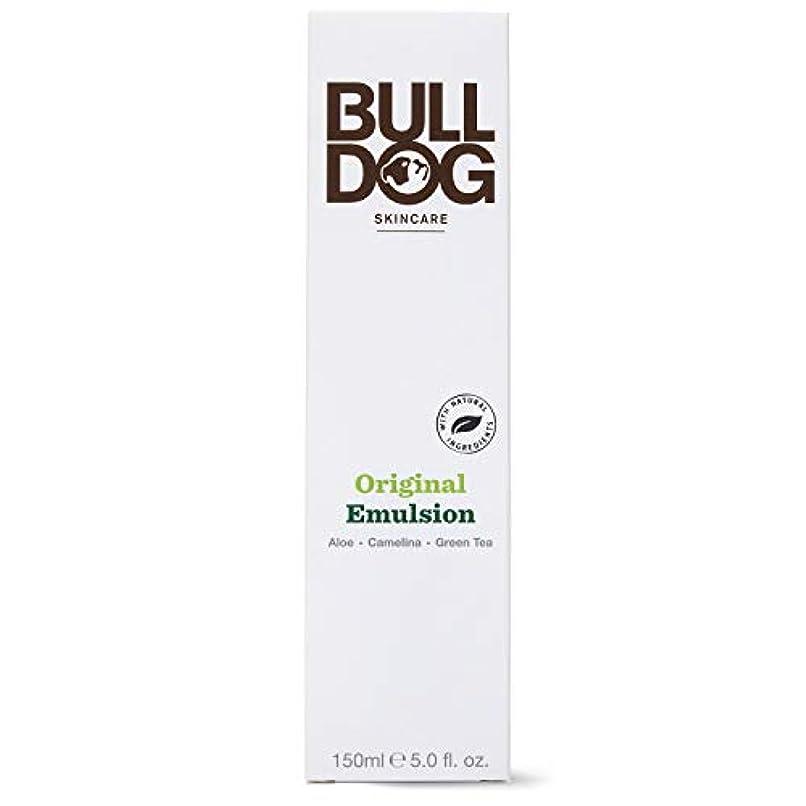クラッシュ文明化取得Bulldog(ブルドッグ) ブルドッグ Bulldog オリジナル エマルジョン 乳液 150ml 肌をすっきり なめらかに