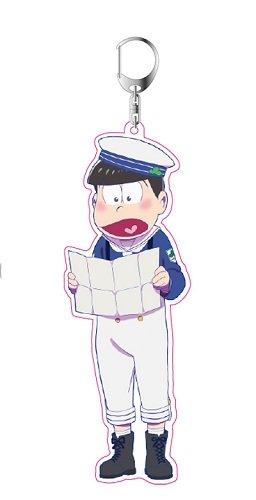 おそ松さん チョロ松 描き下ろし マリンセーラー松 アクリルキーホルダーの詳細を見る