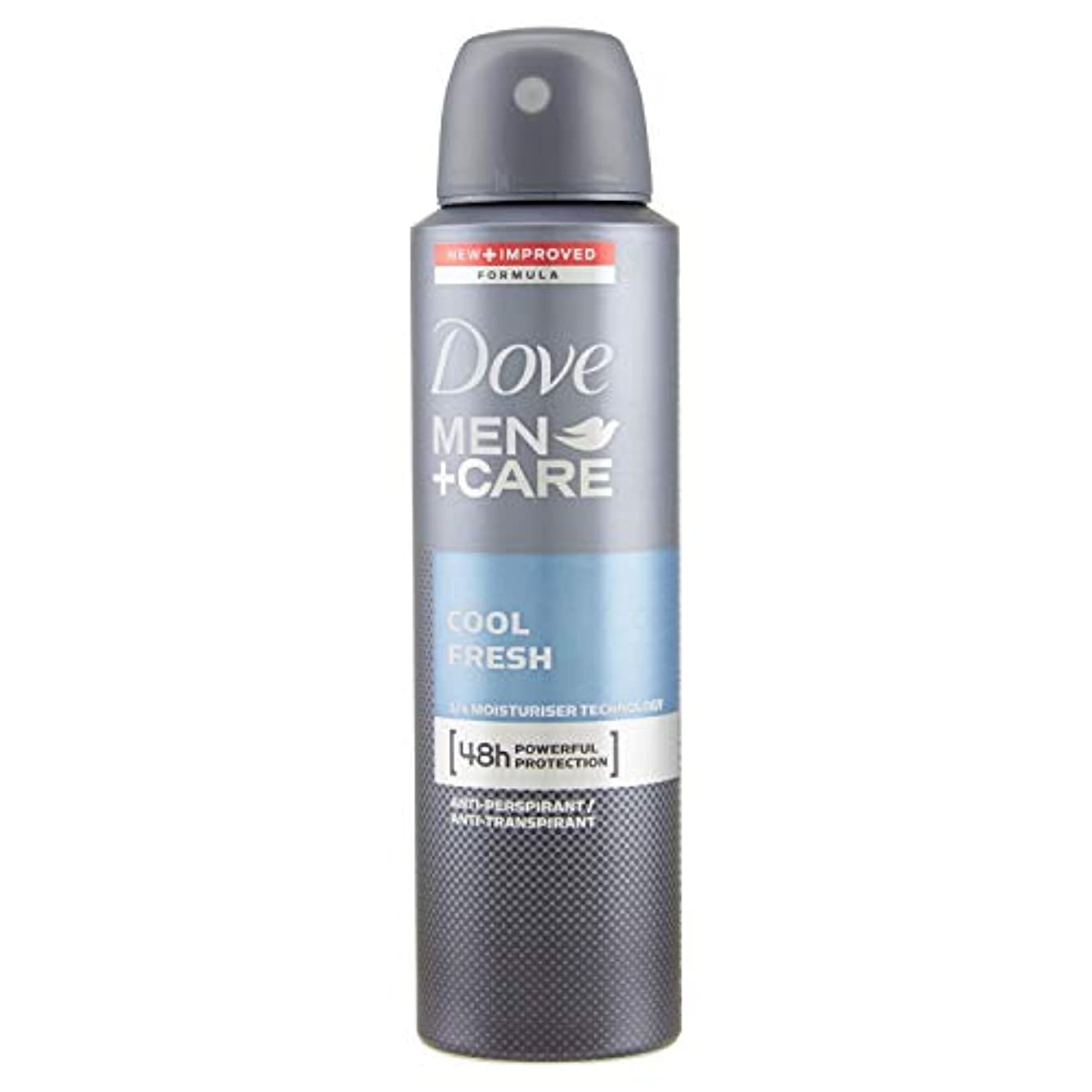 パーツスマッシュ首謀者Dove Men + Care Antiperspirant Deodorant, Cool Fresh, 150ml