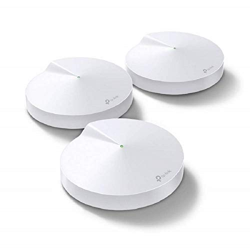 TP-Link Deco Whole Home Mesh WiFi System (3-Pack) - Works with Amazon Alexa, Up to 420 sq.m. Coverage (Deco M5 3-Pack)
