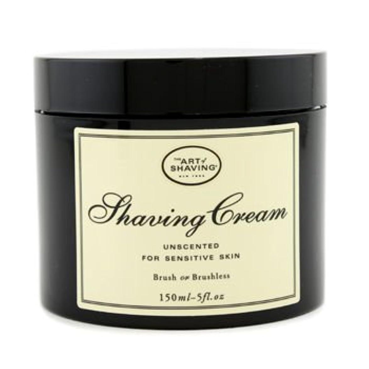囲い鎮静剤荒涼としたアートオブシェービング シェービングクリーム - 無香料 (敏感肌用) 150g/5oz並行輸入品