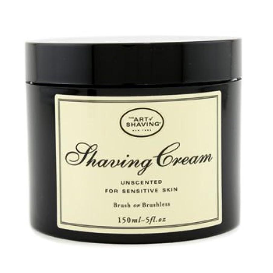 透明に株式率直なアートオブシェービング シェービングクリーム - 無香料 (敏感肌用) 150g/5oz並行輸入品