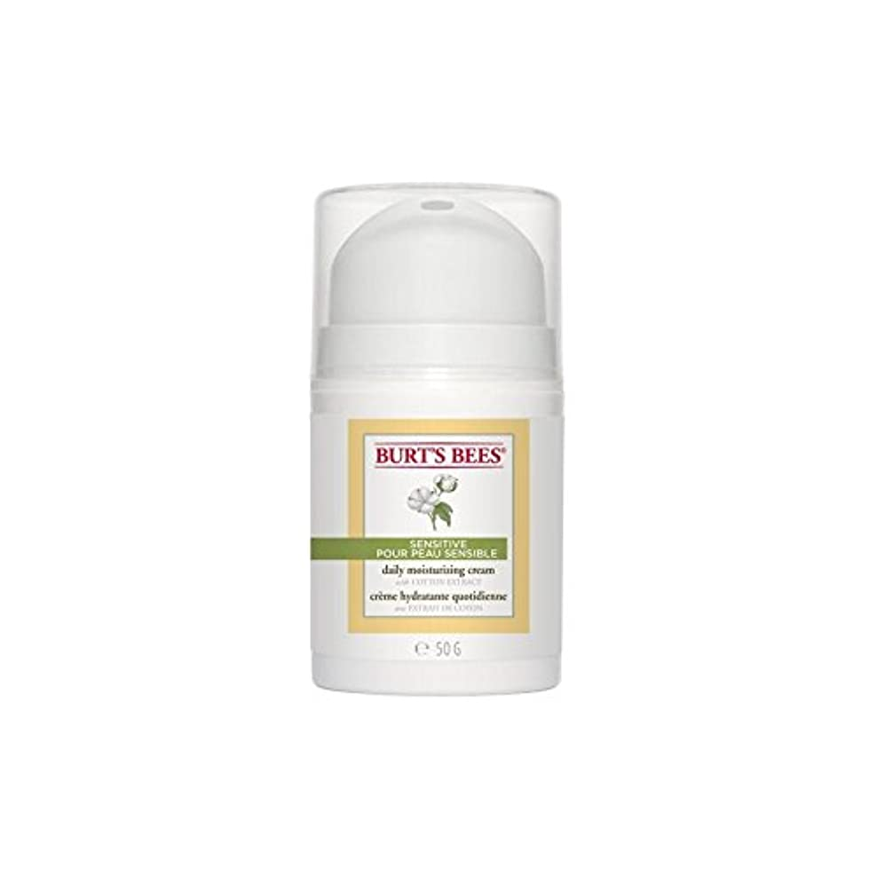 不規則性オフいつもバーツビー敏感毎日保湿クリーム50グラム x4 - Burt's Bees Sensitive Daily Moisturising Cream 50G (Pack of 4) [並行輸入品]