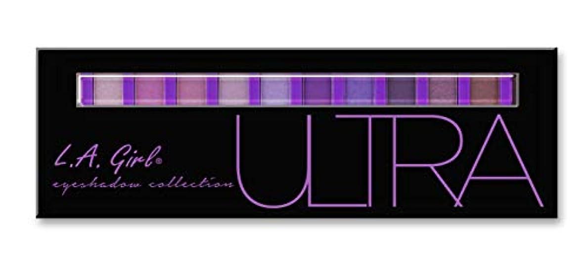 狂人主要などれLA GIRL Beauty Brick Eyeshadow Collection - Ultra (並行輸入品)