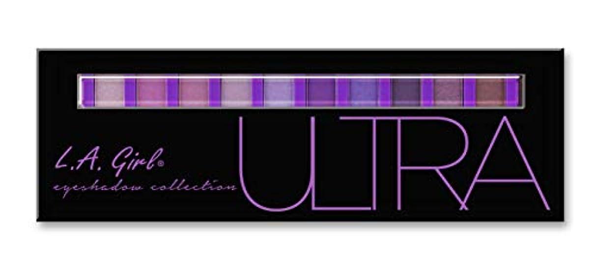 欠員窒息させる海港LA GIRL Beauty Brick Eyeshadow Collection - Ultra (並行輸入品)