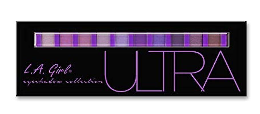 記者しなければならない半ばLA GIRL Beauty Brick Eyeshadow Collection - Ultra (並行輸入品)