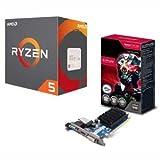 AMD AMD CPU 1400 BOX Ryzen 5+SAPPHIRE VGAセット【CPUクーラー付属】「YD1400BBAEBOX+SA-R5230-1GD01」 YD1400BBAEBOXWSAR523