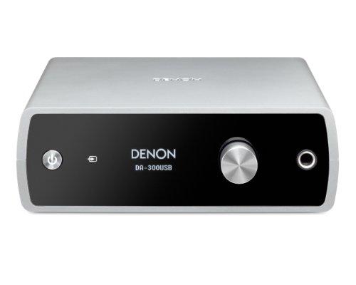 DENON USB-DAC/ヘッドホンアンプ シルバー DA-300USBS