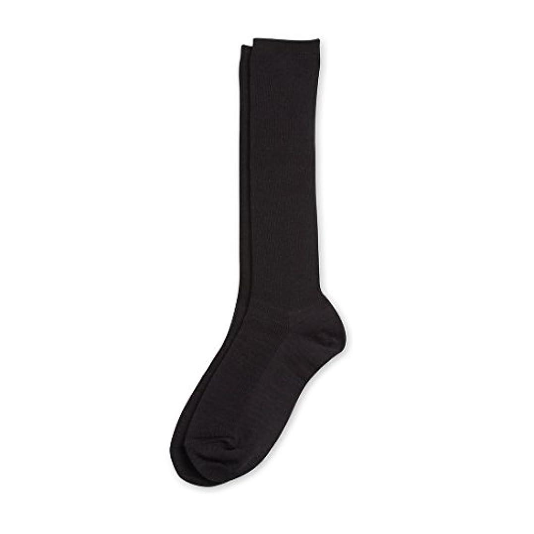 確かなクルーズ芸術的Deol(デオル) ハイソックス 女性用 日本製 靴下 黒 23cm-25cm
