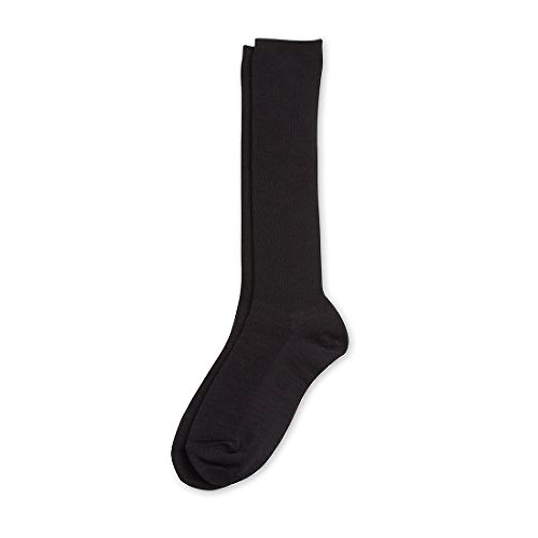 引退する奇跡したいDeol(デオル) ハイソックス 女性用 日本製 靴下 黒 23cm-25cm