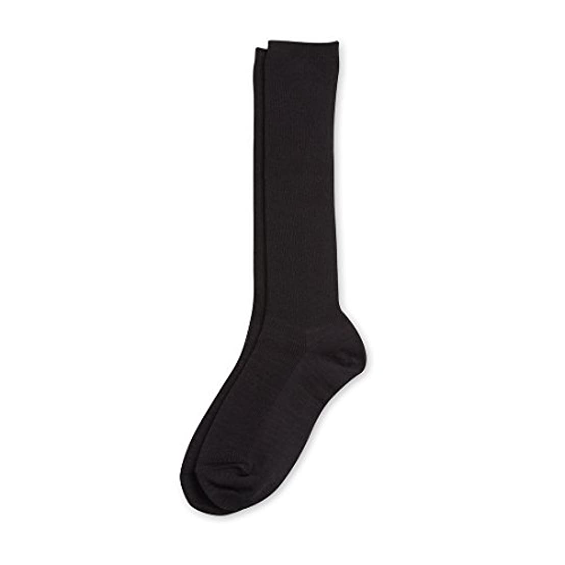 Deol(デオル) ハイソックス 女性用 日本製 靴下 黒 23cm-25cm