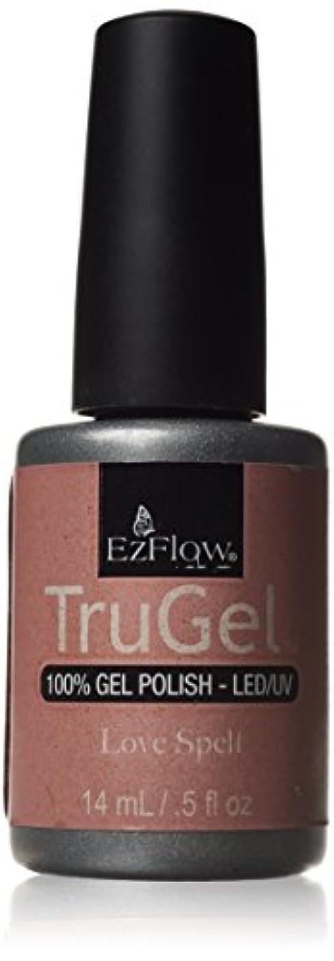 配置赤字ワインEzFlow トゥルージェル カラージェル EZ-42449 ラブスペル 14ml