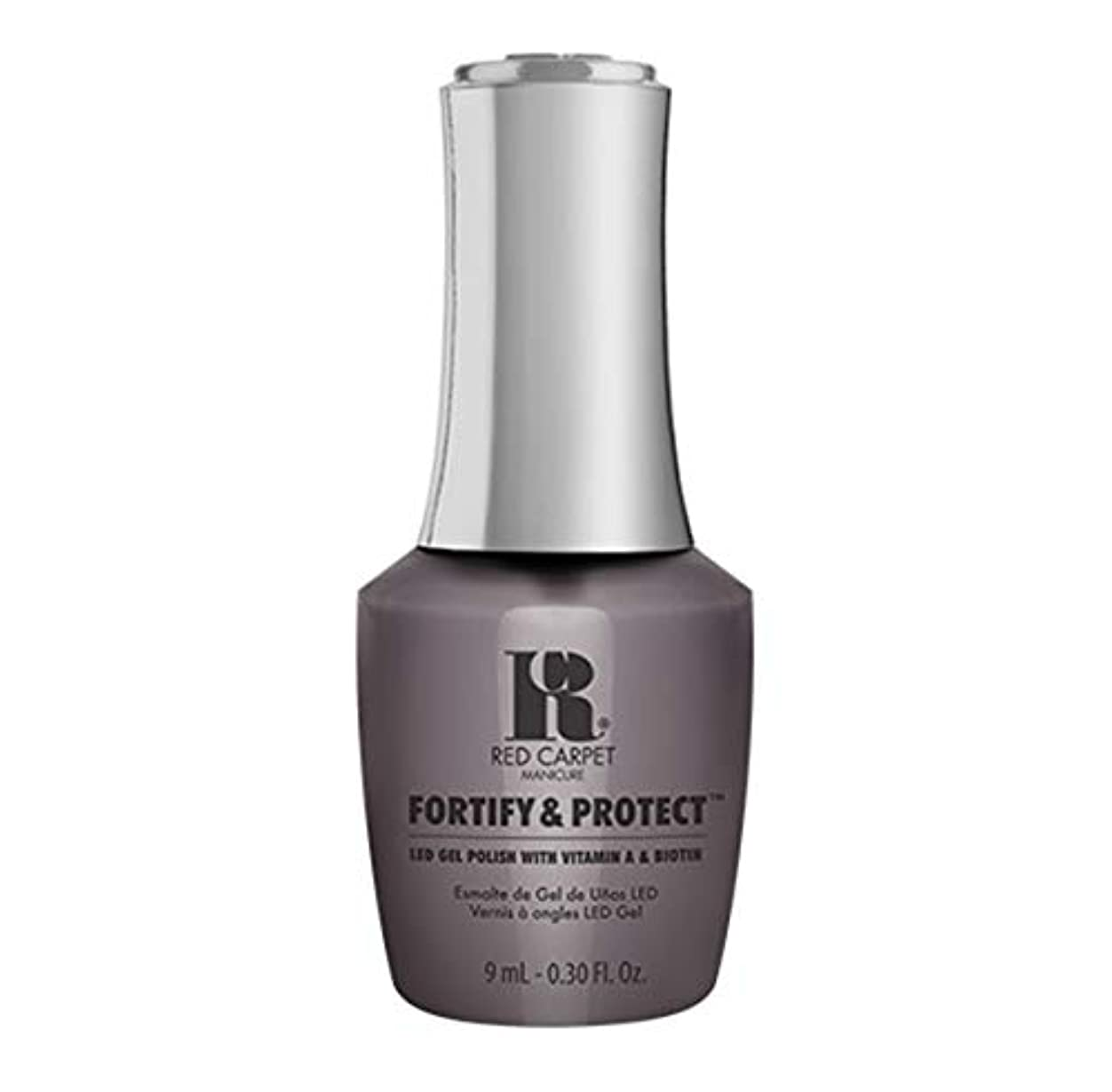 解凍する、雪解け、霜解け矩形決してRed Carpet Manicure - Fortify & Protect - Getting My Screen Time - 9ml / 0.30oz