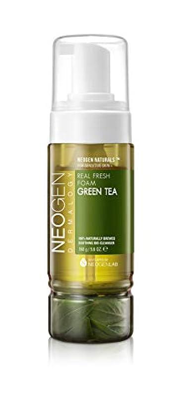 安全な扇動する動脈[ NEOGEN] ネオジェンダーマロッジリアルフレッシュフォーム (Green Tea)