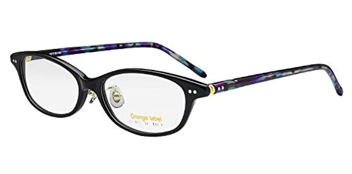 鯖江ワークス(SABAE WORKS) 遠近両用メガネ おしゃれ 女性用 ブラック OL527C3 遠用度なし 度数+1.50