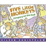 Five Little Monkeys Jumping on the Bed (A Five Little Monkey…