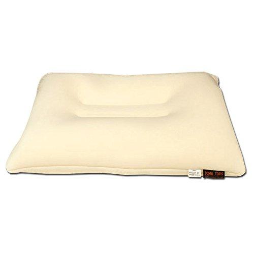 マイクロビーズ × 低反発 枕 43×63cm 洗える 専用カバー付き 「やさしい枕」 寝返り 安眠 横向き 肩こり いびき 高め ビーズ枕