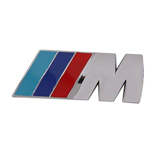 BMW Mシリーズ用 Mスポーツ 3D メタル バッジ エンブレム ステッカー ロゴ デコシール