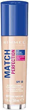 Rimmel London Match Perfection Foundation 30mL -Fair Porcelain #001