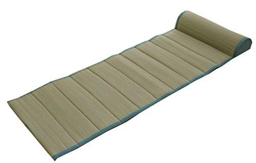 イケヒコ クッション 無地 ごろ寝クッション ごろ寝枕 フリーシート い草クッション ぽこぽこ 『プチ ねころんぼ』 ブルー 約55×150cm