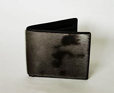アザラシ 二つ折り財布(小銭入れ付き)