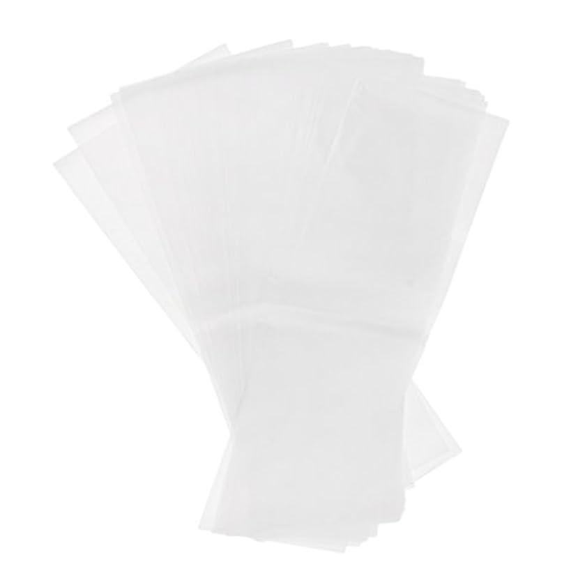 コンクリートヘアドループBaosity 約50枚 染毛紙 ハイライトシート 再利用可 プラスチックシート ヘアケア プロ サロン ヘアカラー 2タイプ選べ - ホワイト