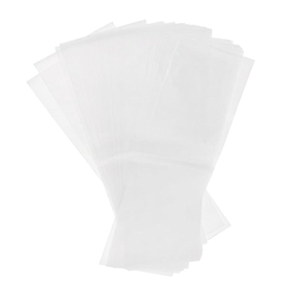 エキゾチックフットボール感じる約50枚 染毛紙 ハイライトシート 再利用可 プラスチックシート ヘアケア プロ サロン ヘアカラー 2タイプ選べ - ホワイト