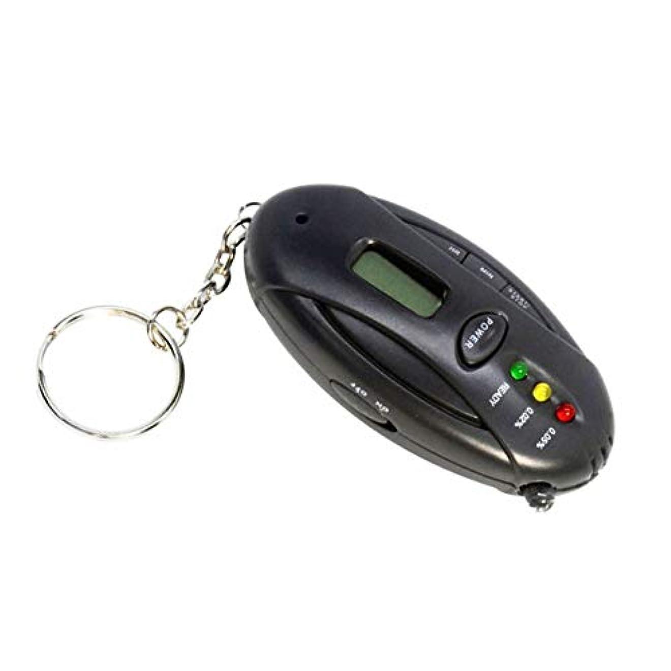 より平らな今までセントフェリモア 携帯用 アルコールチェッカー ライト点灯 アラーム 英語表記 酒気検査 吸気 呼気 運転