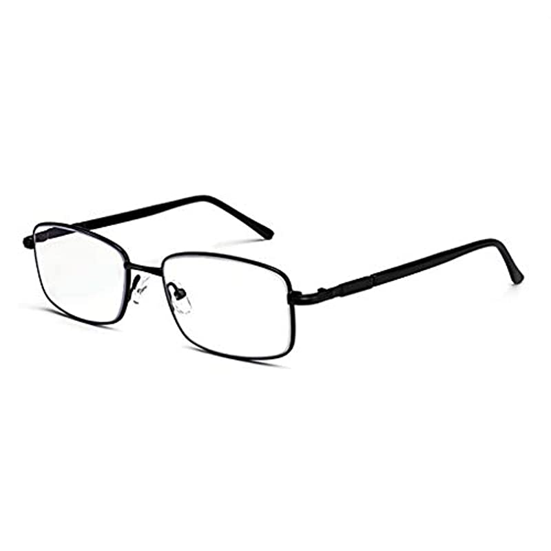 HDインテリジェント自動ズームデュアルユース老眼鏡、快適な着用、強力な耐衝撃性、高解像度ビジョン、有害な青色光の遮断、ユニセックス。