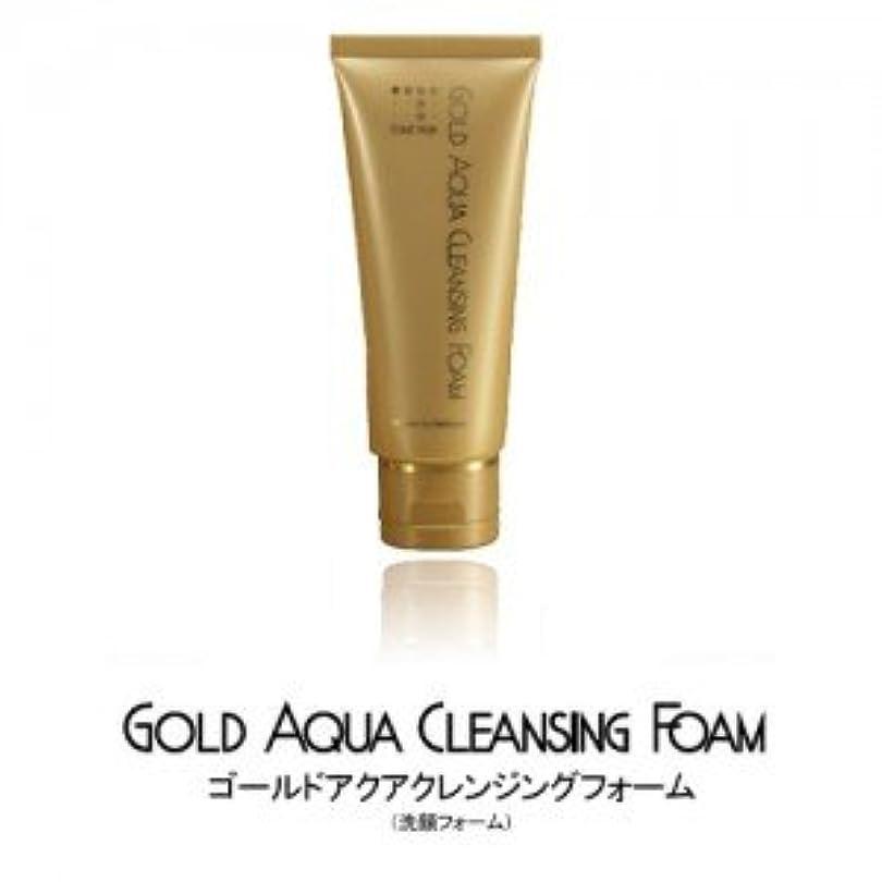 液化する拡散する重大コスメプラウド ゴールドアクアクレンジングフォーム 100g(洗顔料)