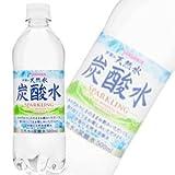 サンガリア 伊賀の天然水炭酸水 500ml 【48本セット】