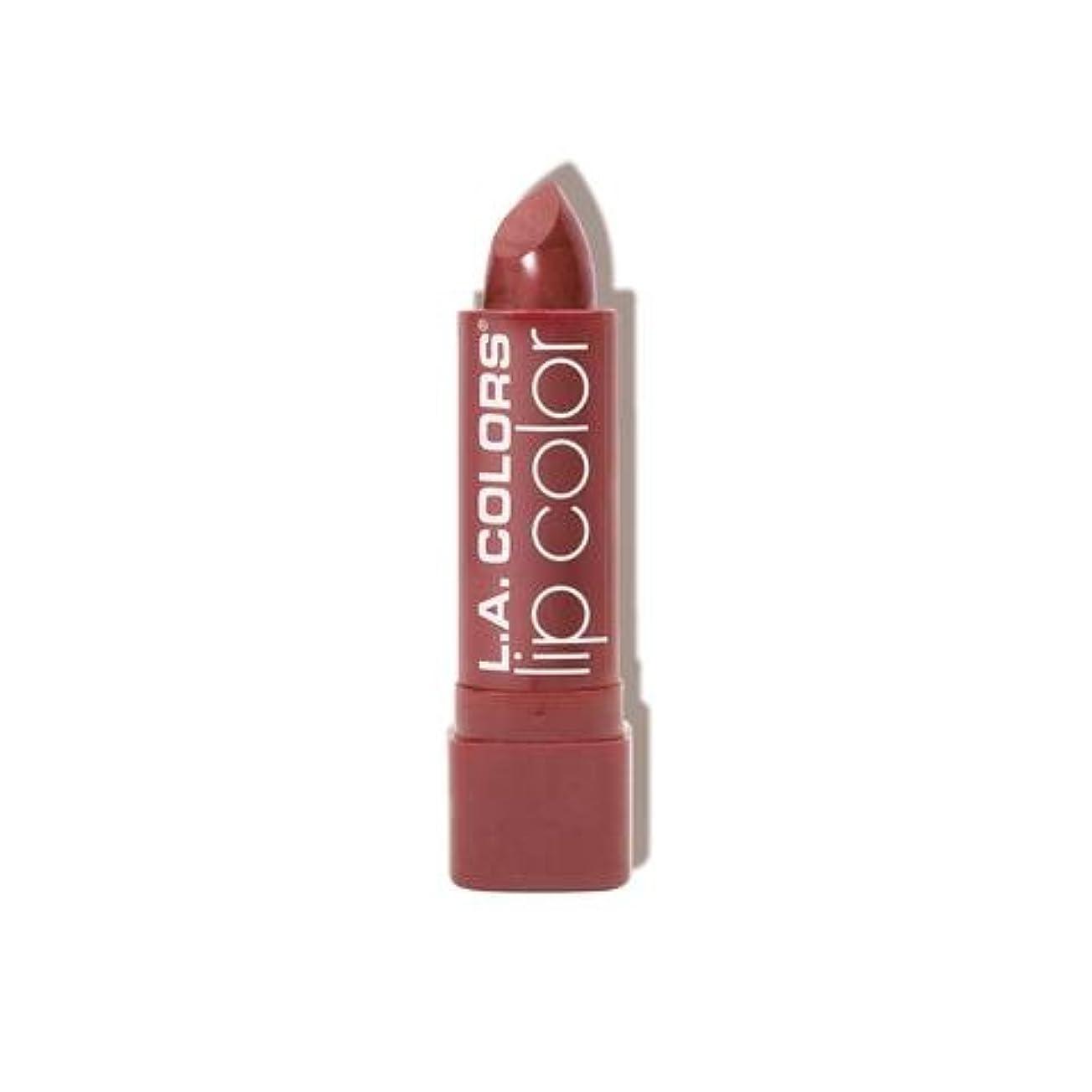 矢印カストディアン加速度L.A. COLORS Moisture Rich Lip Color - Petal (並行輸入品)