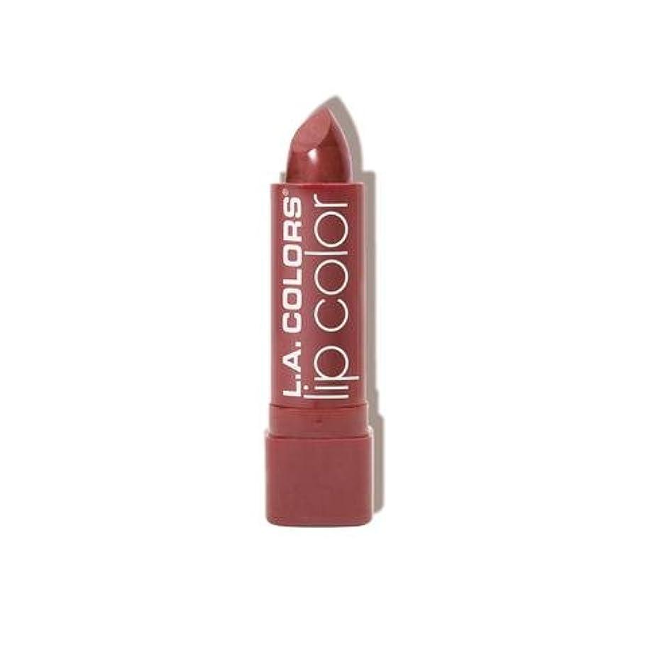 ジム呼び起こす吸収L.A. COLORS Moisture Rich Lip Color - Petal (並行輸入品)