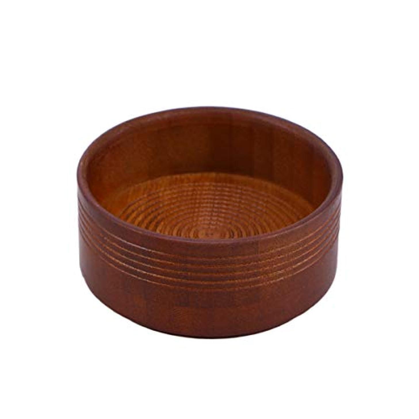アカウントガイドライン選択SUPVOX 男性用木製シェービングブラシボウルシェービングクリームソープマグコンテナ