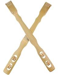 D DOLITY 2個 バックスクラッチャー 孫の手 木製 リラックス プレゼント