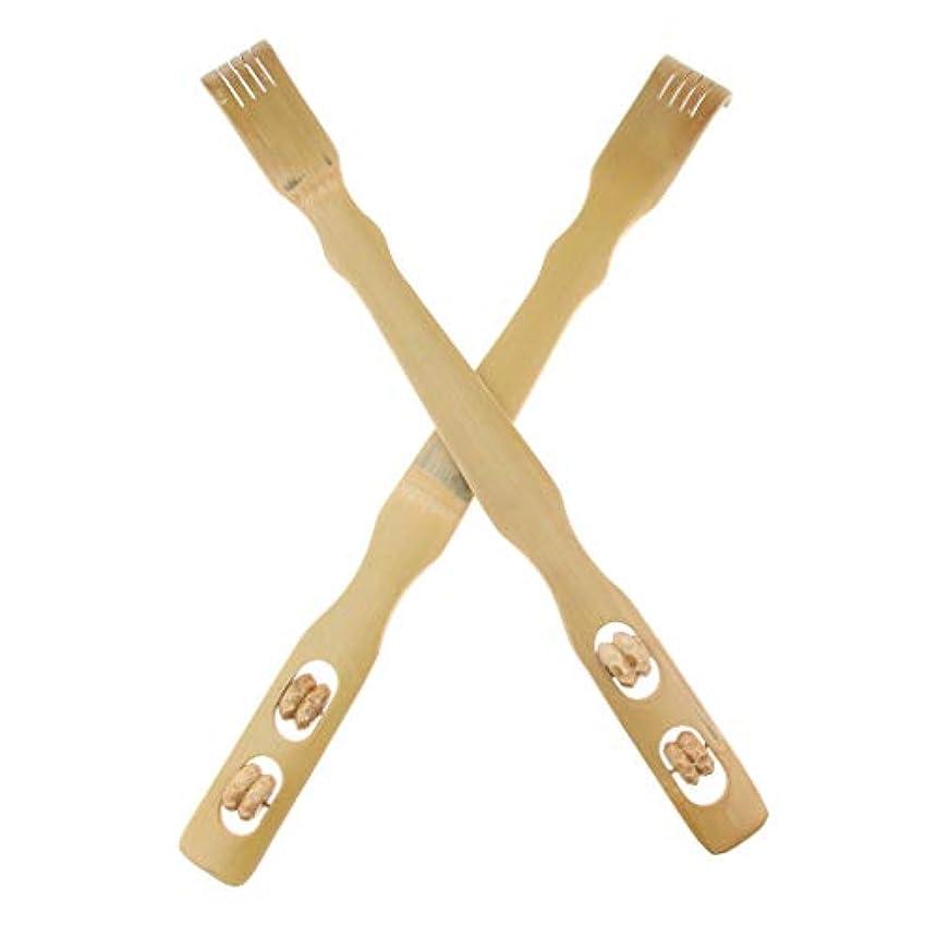ジョージスティーブンソンから聞くびっくりする2個 バックスクラッチャー 孫の手 木製 リラックス プレゼント