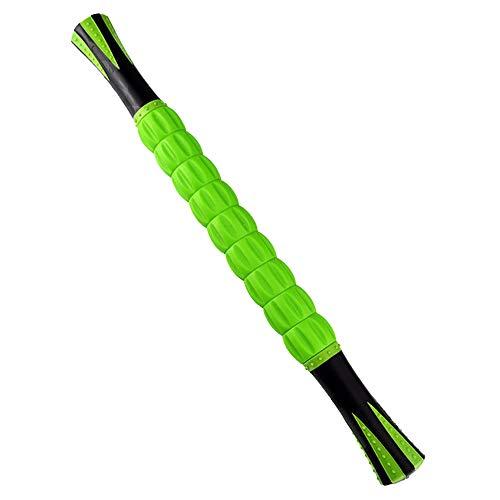 bon trading マッサージローラー スティック トリガーポイント 筋膜ローラー (緑)