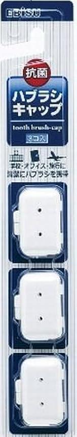 大使館間欠死ぬエビス エビスハブラシキャップ抗菌 大人用 3個入り×240点セット (4901221711309)